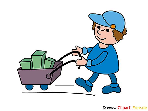 Winkelwagen clipart