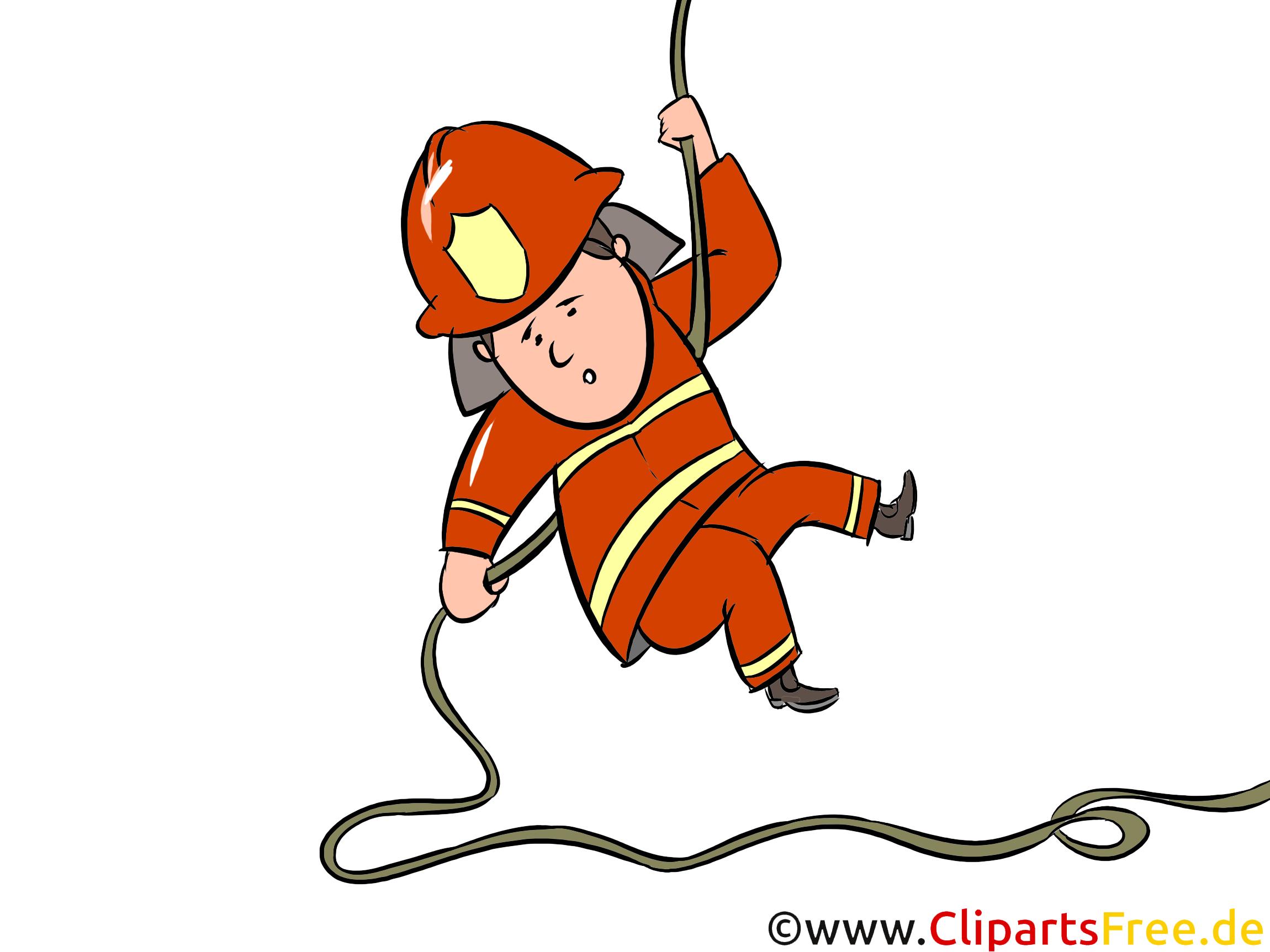 消防士トレーニングイラスト、クリップアート、画像