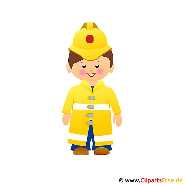Brandweerlieden clipart gratis