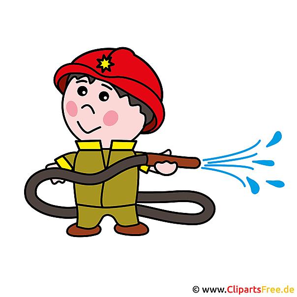 無料の消防士漫画画像