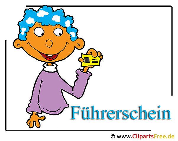 Führerschein Clipart-Bild free