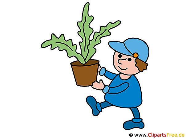 Gärtner Clipart
