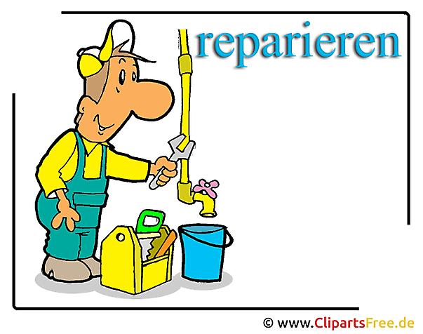 Handwerker Clipart free - Berufe Bilder kostenlos