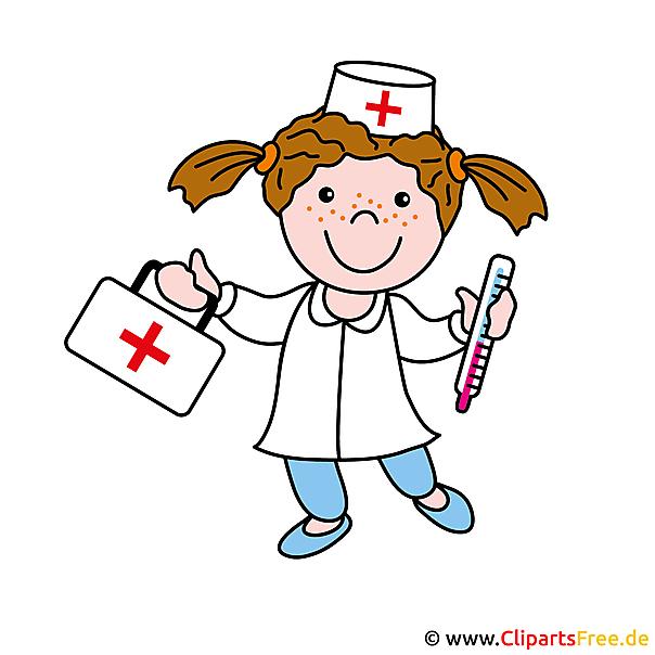 Krankenschwester Clipart Bild gratis