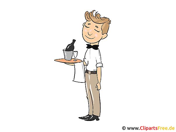 Ober Clipart, Bild, Cartoon, Illustration kostenlos