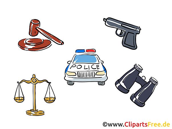 Polizei Cliparts kostenlos