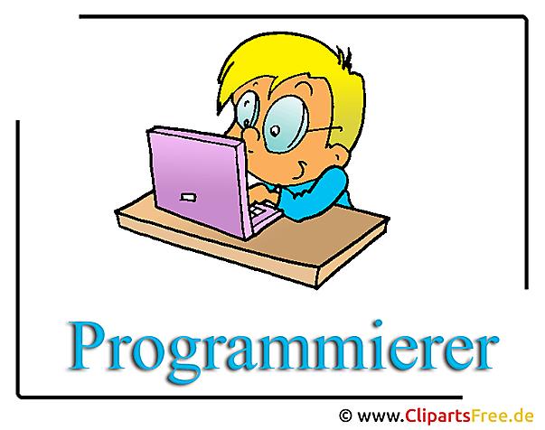 Programcı clipart illüstrasyon ücretsiz