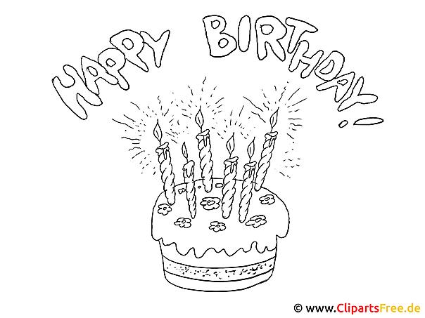 Lustige Ausmalbilder Geburtstag : Alles Gute Zum Geburtstag Zum Ausmalen Zum Geburtstag W Nsche