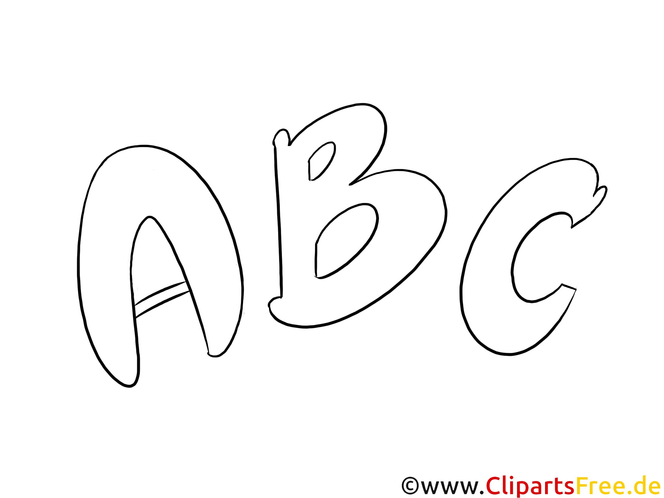 ABC Ausmalbilder