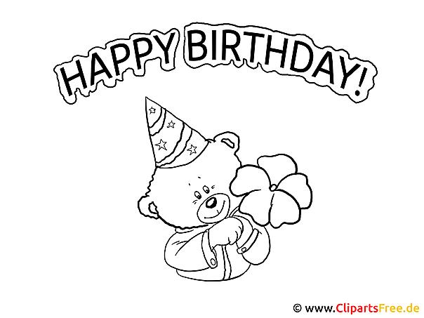 Ausmalbilder Geburtstag 80 : Alles Gute Zum Geburtstag Zum Ausmalen Zeit Spr Che Und