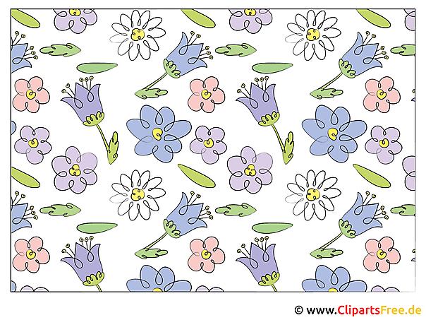 Desktopachtergrond met bloemen