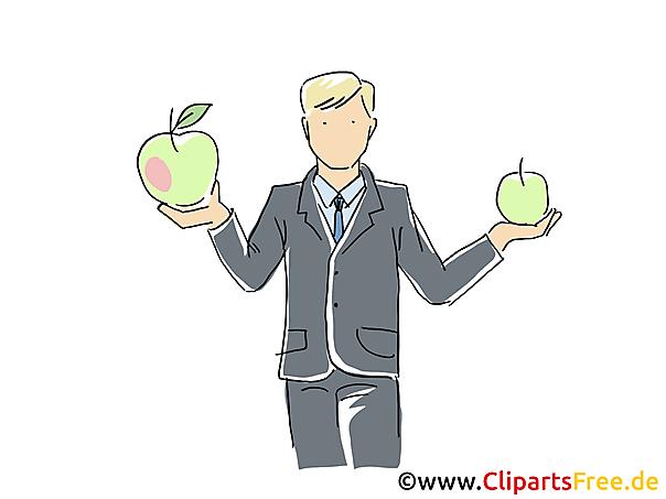 Arbeitgeber Clipart, Grafik, Bild, Cartoon