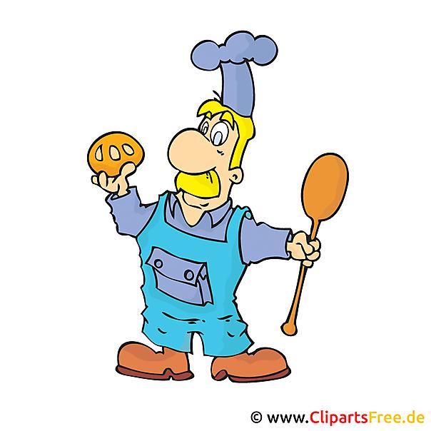 Bäcker Clipart Bild kostenlos