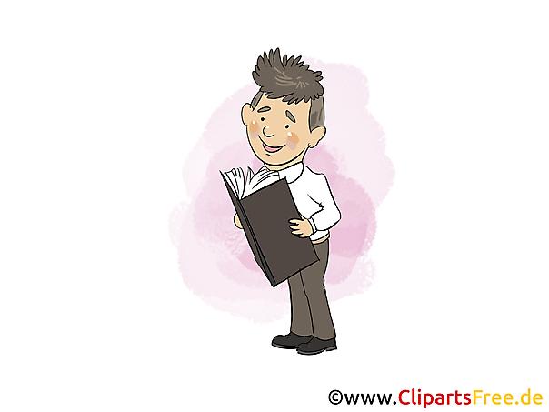 Berater Clipart, Bild, Grafik, Cartoon gratis