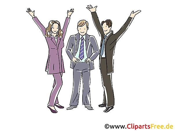 Berater, Consulting Clipart, Grafik, Bild, Cartoon