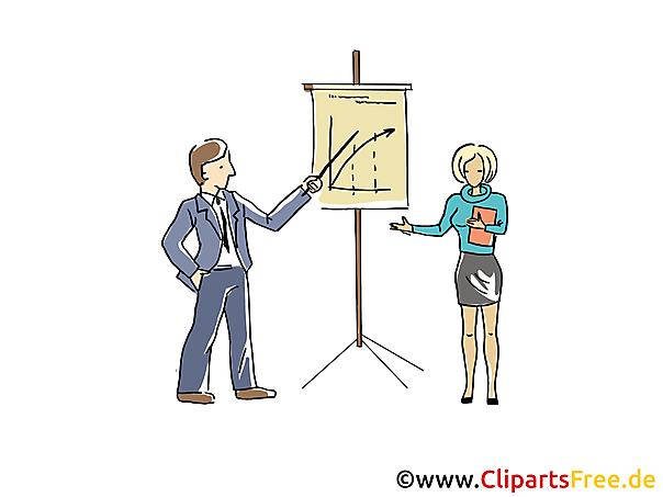 Business-Präsentation Clipart, Grafik, Bild, Cartoon