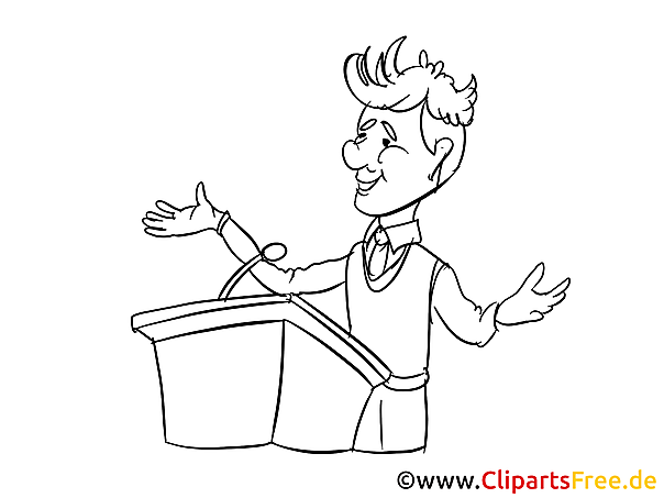 Business conference Clipart, Cartoon, Image