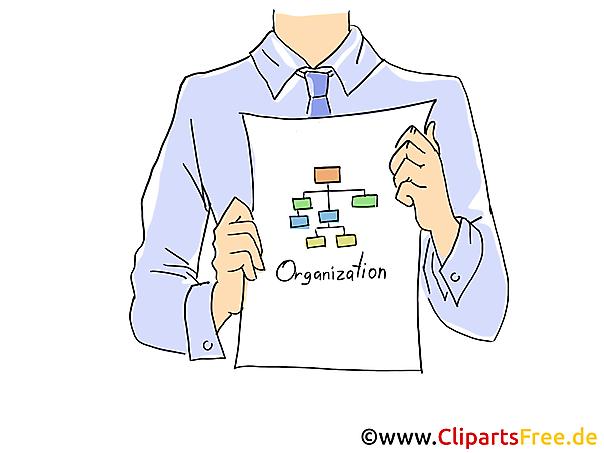Business Plan Clipart, Grafik, Bild, Cartoon