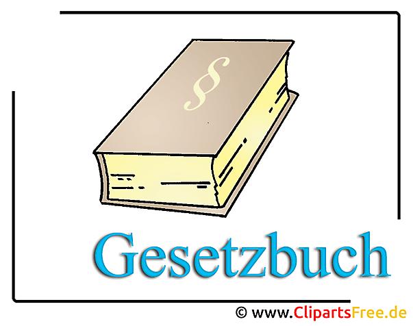 Cliparts free in Hochaufloesung Gesetzbuch