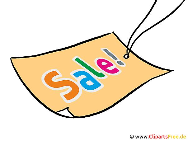 Etiketten Vorlage Bild Sale