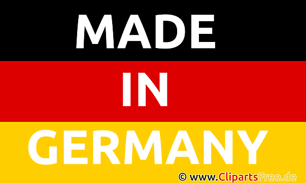 Made in Germany Clipart, Image, Bild, Grafik