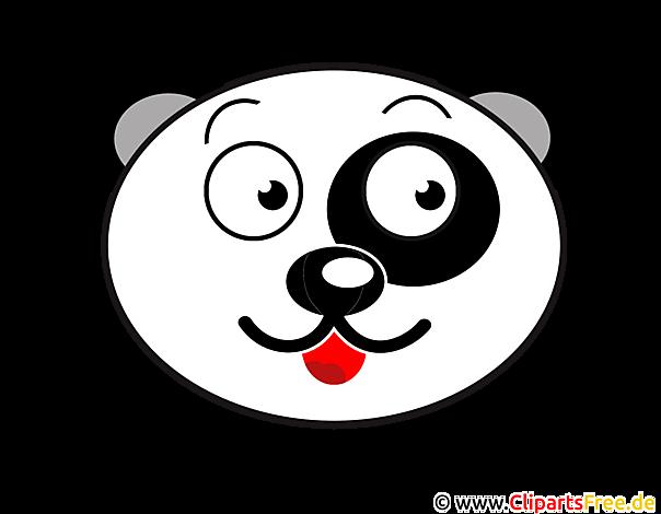 panda baer clip art. Black Bedroom Furniture Sets. Home Design Ideas