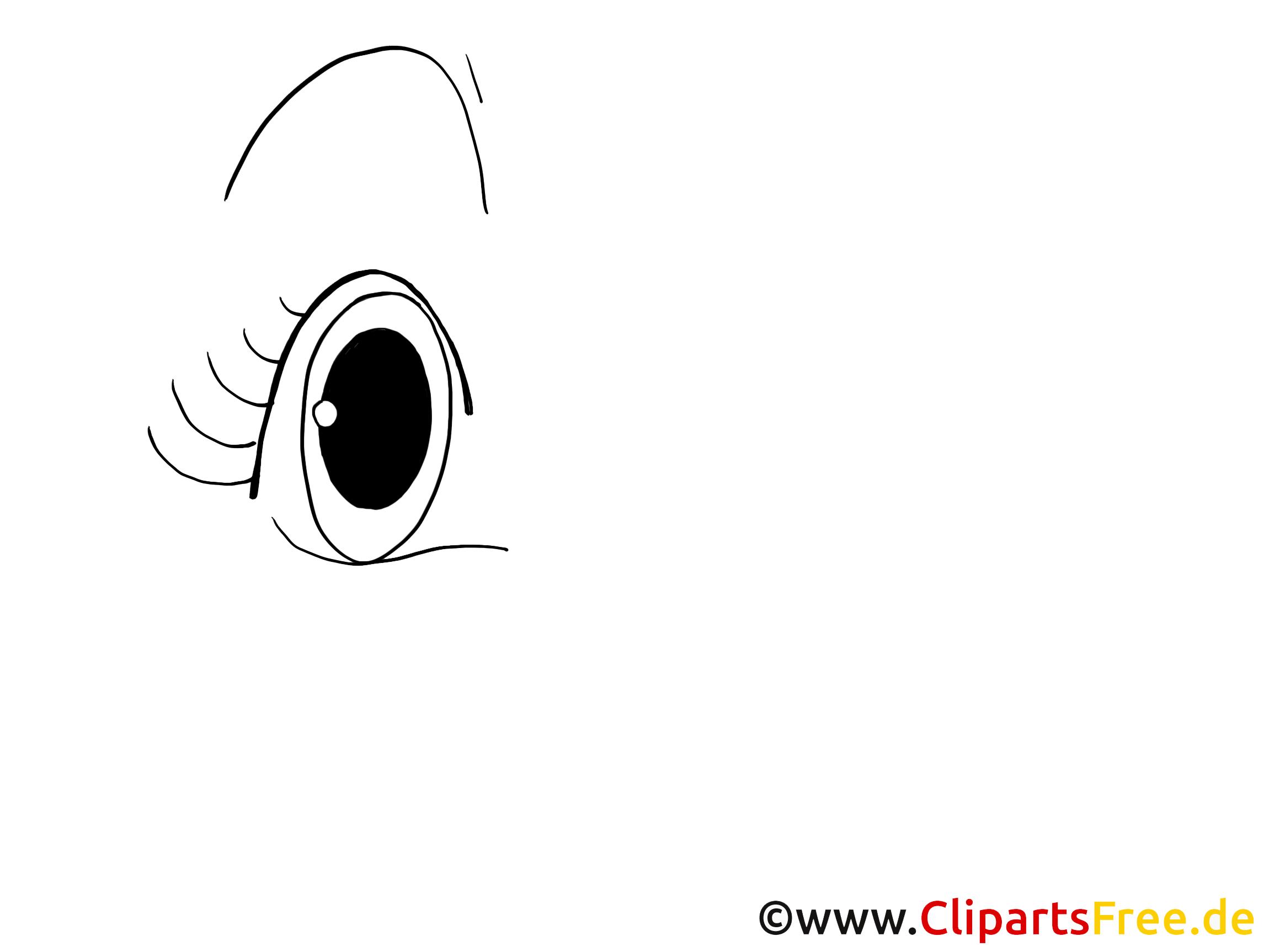 Zeichnung Auge