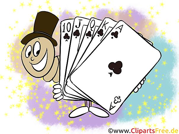 Ass Pik Spielkart Kasino Bilder