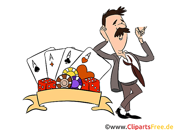 Casino Illustrationen, Bilder, Cliparts