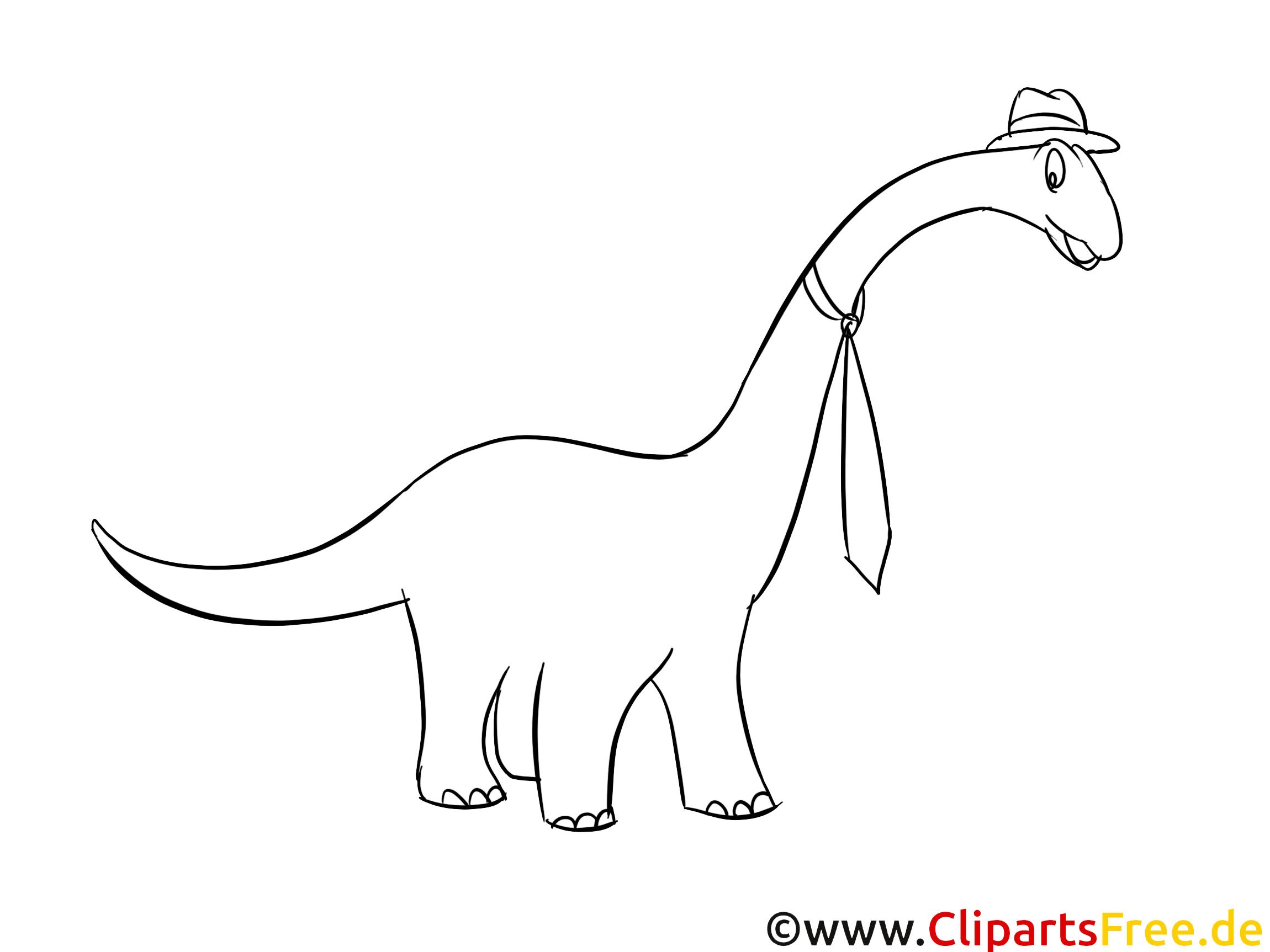 Apatosaurus Bild Zum Ausmalen Dinosaurier Bilder