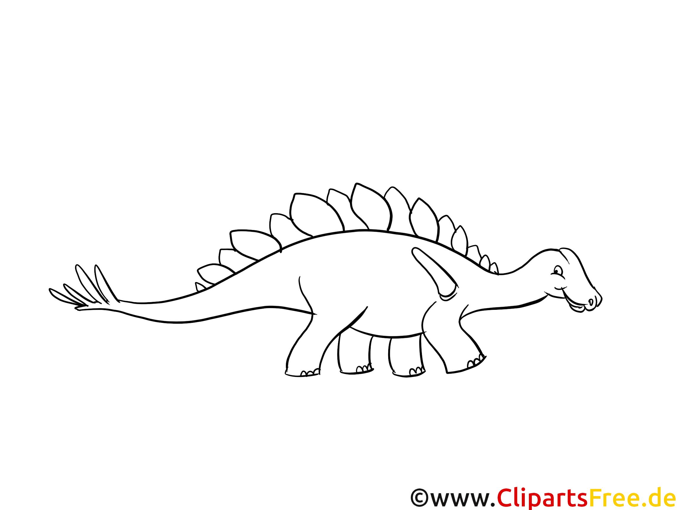 Bildtitel: Malvorlage Dino kostenlos