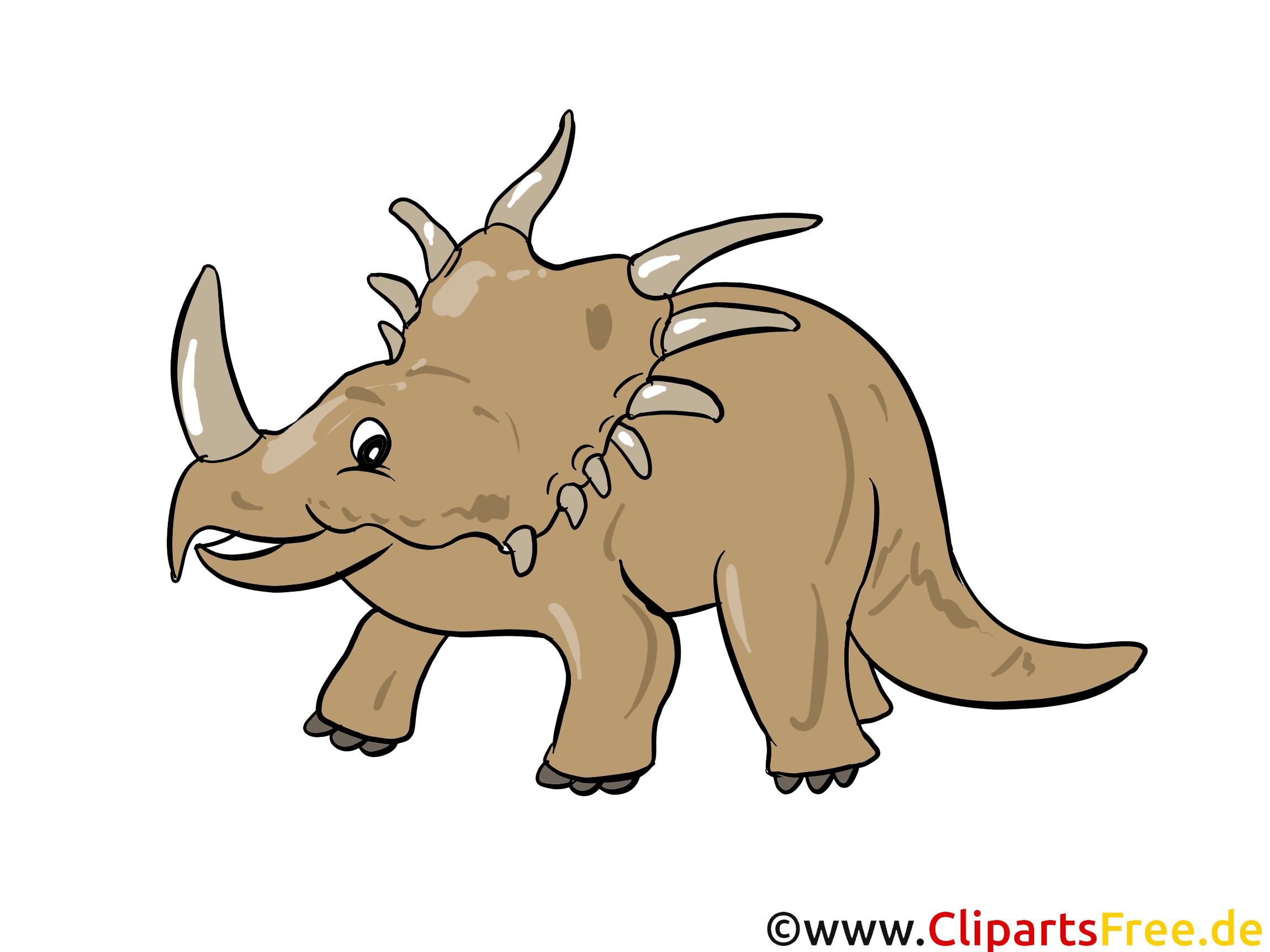 Styracosaurus Bild - Dinosaurierarten Bilder, Cartoons, Illustrationen gratis