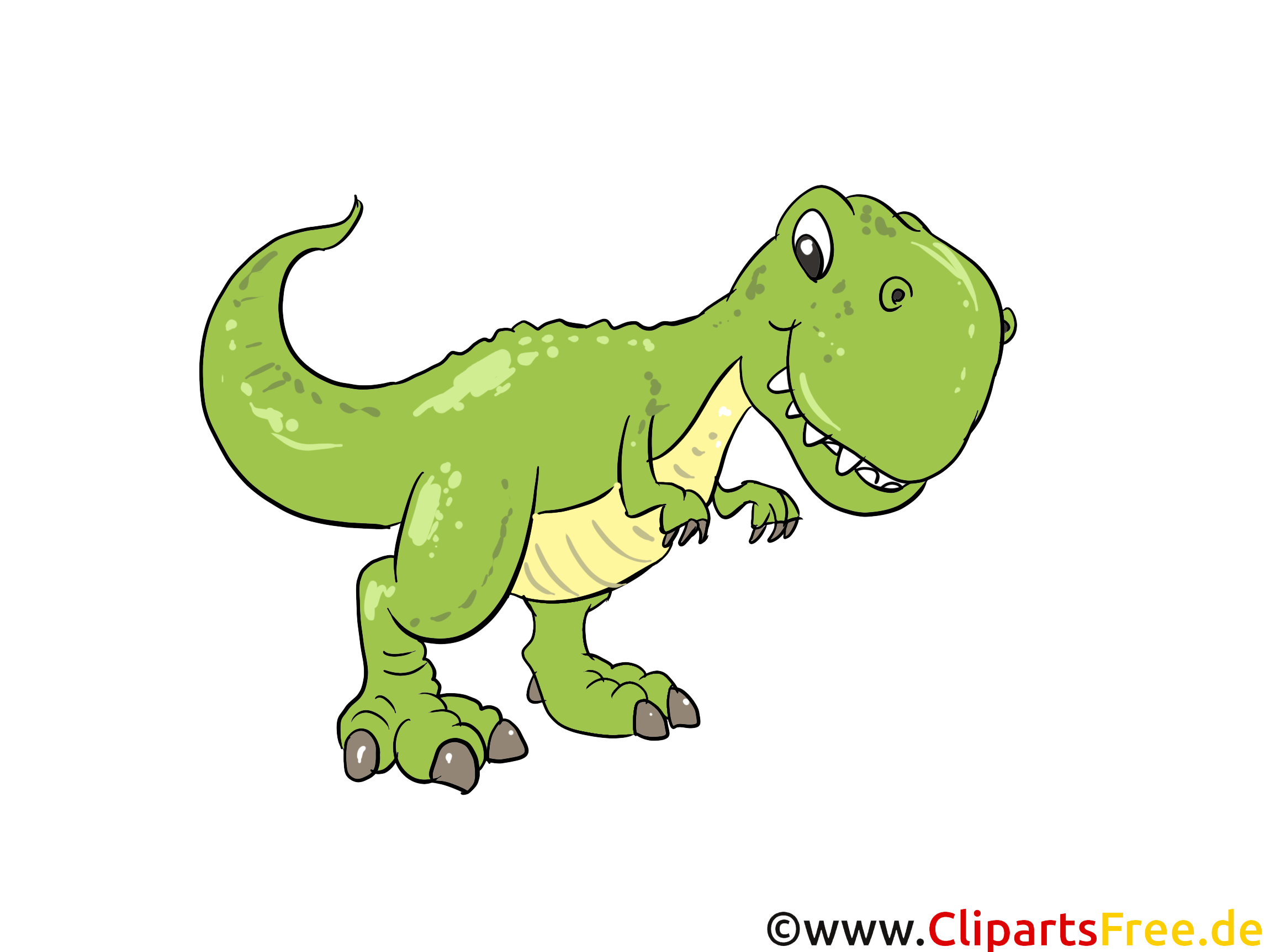 Tyrannosaurus Rex Clipart Bild Cartoon Comic Illustration Gratis