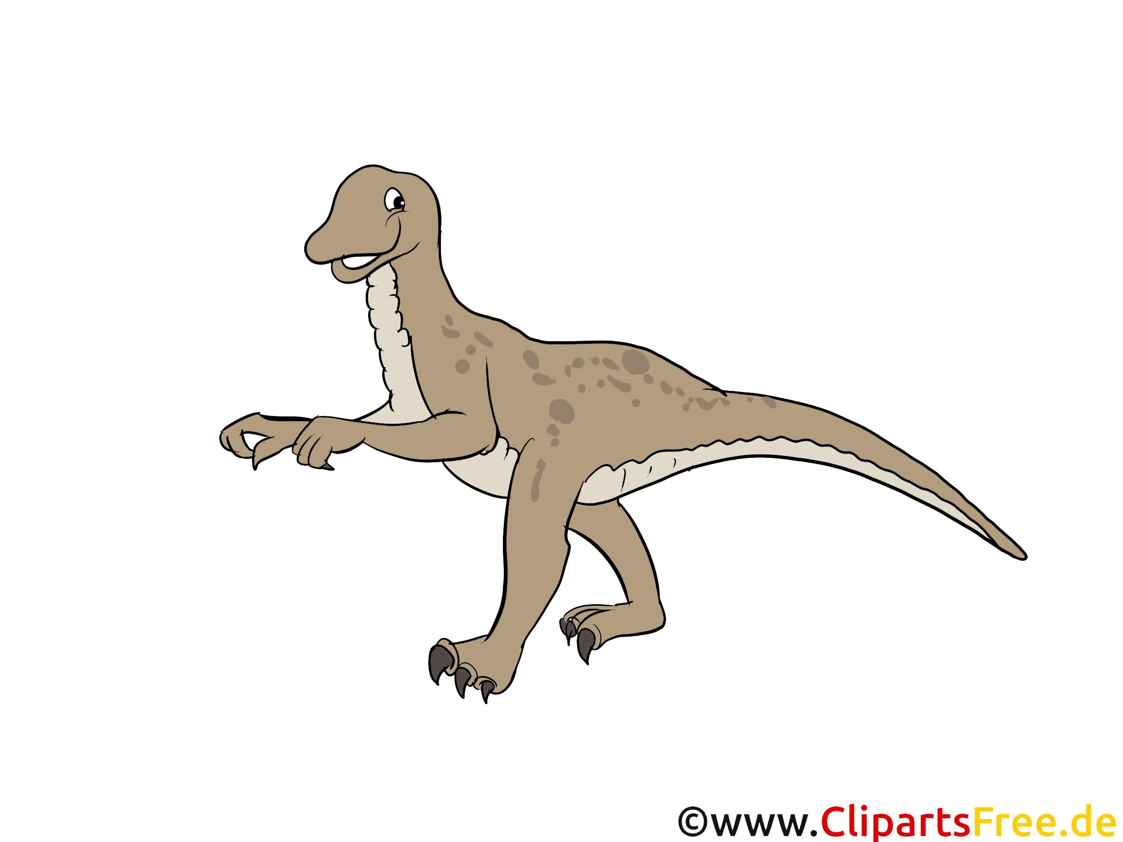 Velociraptor-afbeelding - afbeeldingen van dinosaurussen, tekenfilms, gratis illustraties