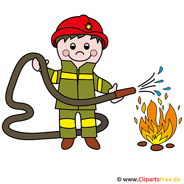 Clipart Feuerwehrmann