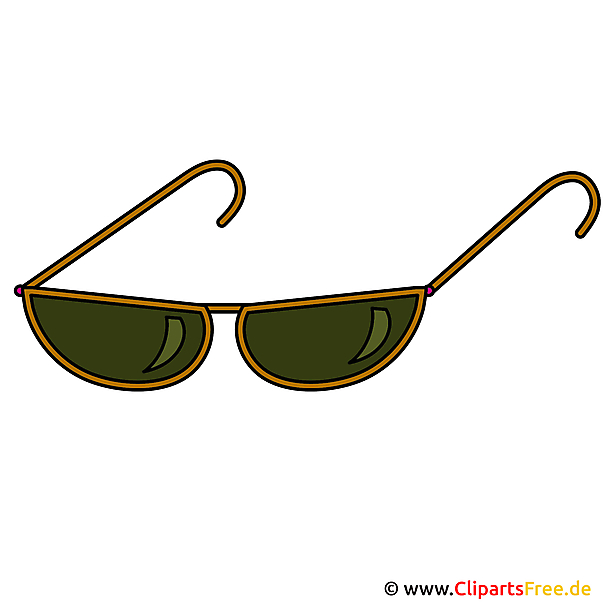 Sonnenbrille Clipart