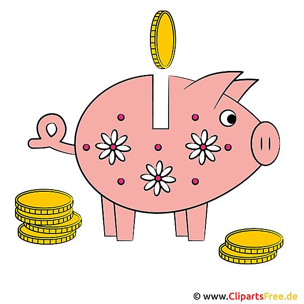 Sparschwein Clipart