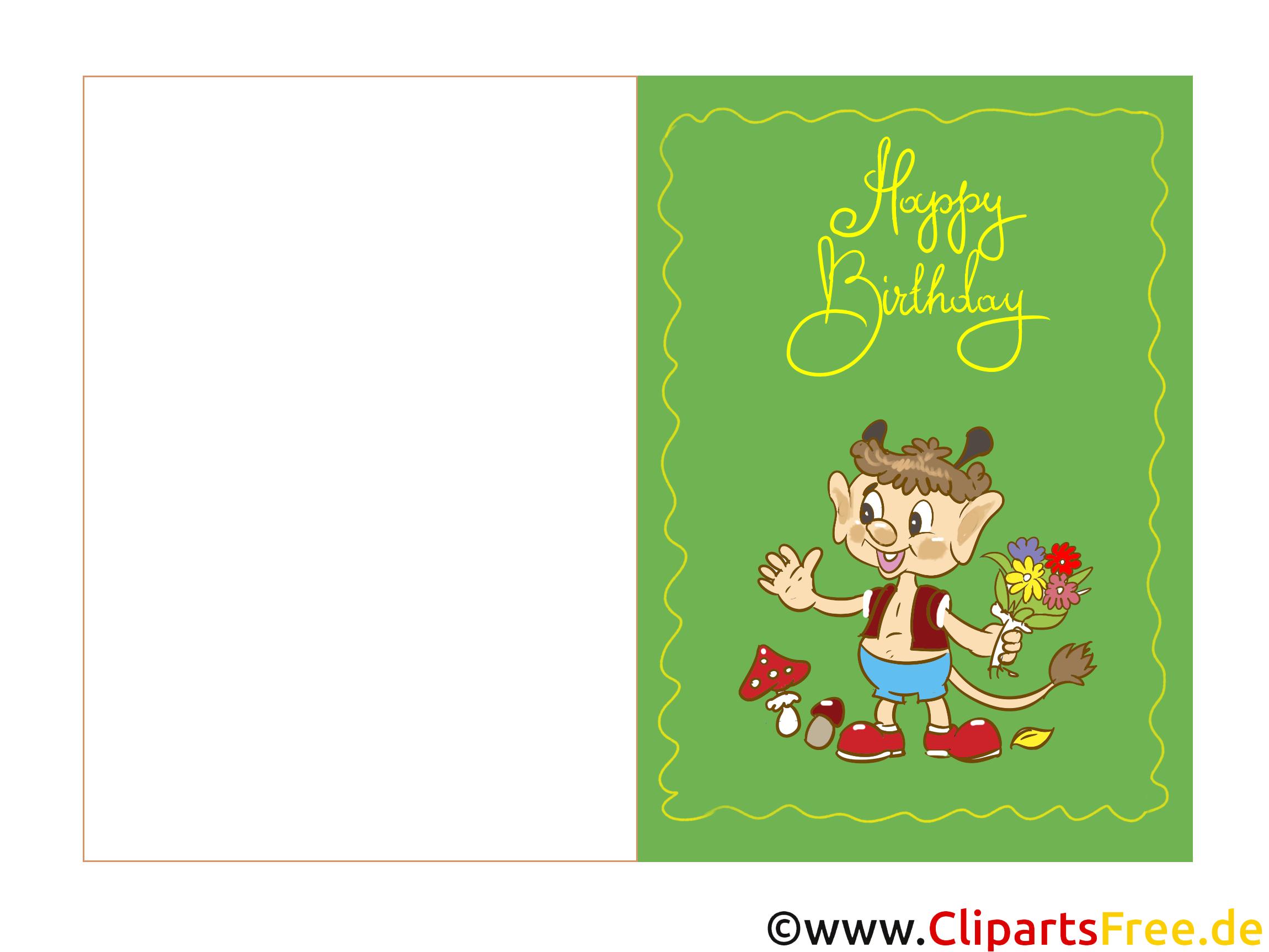 Geburtstagskarte email kostenlos