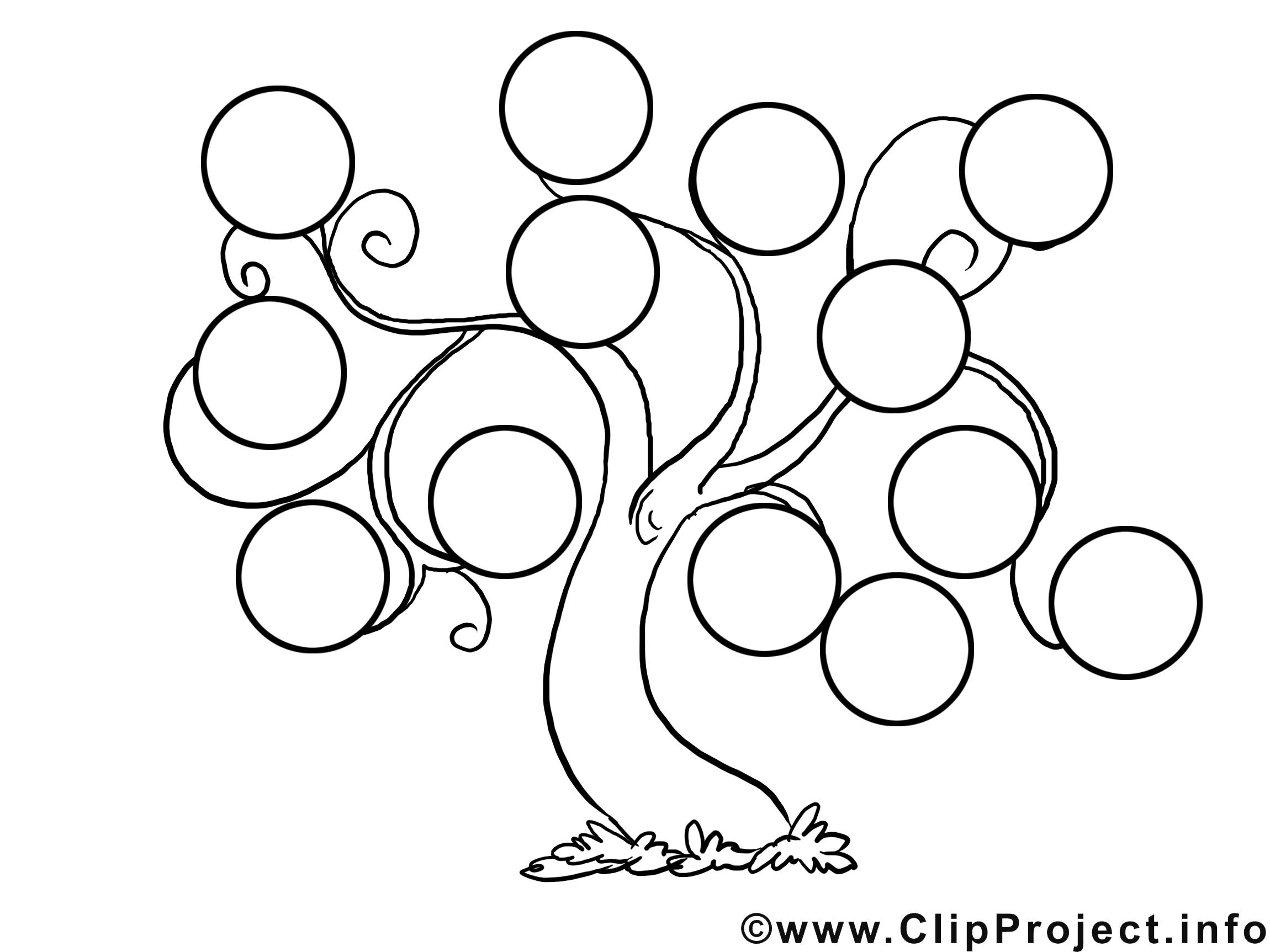 Stammbaum Vordruck