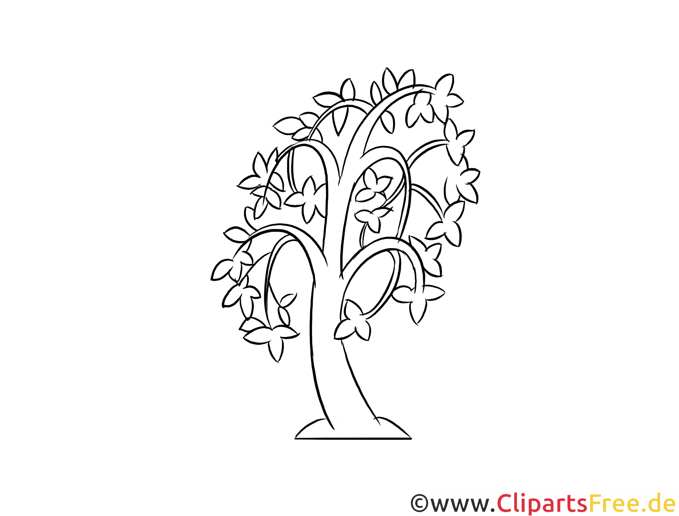 Atemberaubend Kostenlose Druckbare Baum Vorlage Galerie ...