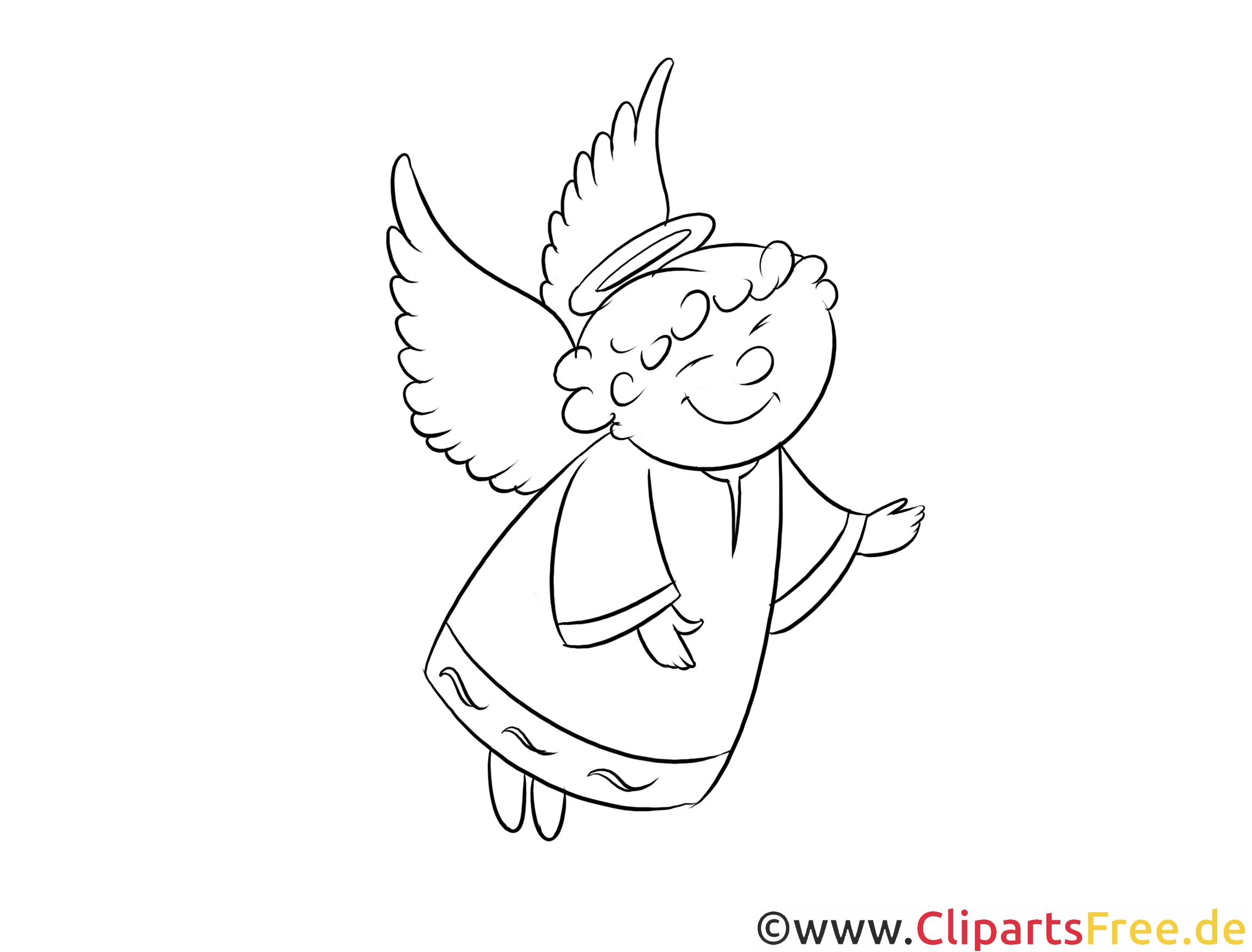 Schön Malvorlagen Engel Kostenlos - Art von Malvorlagen