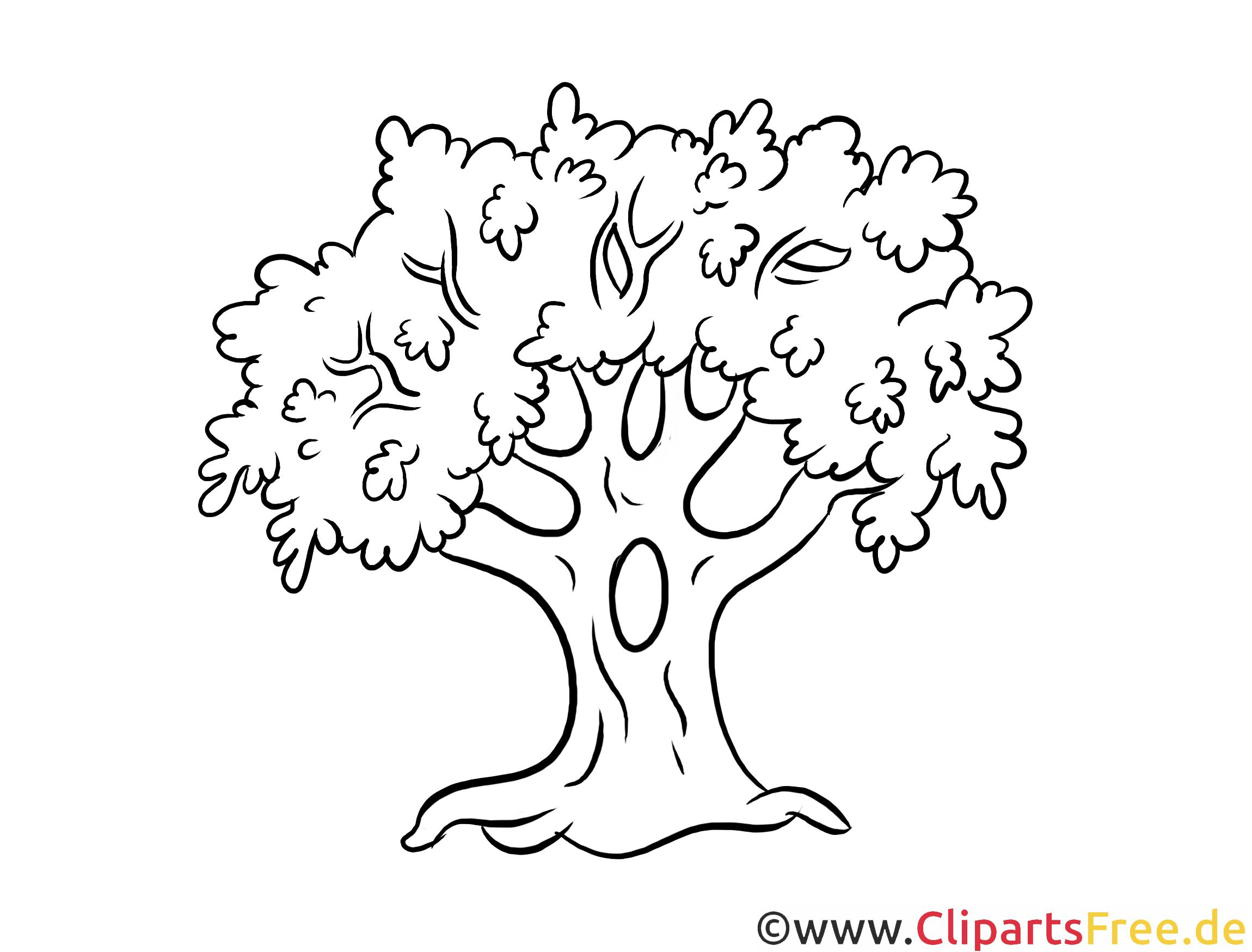 Fingerabdruck Baum Vorlage Clipart Gastebuch