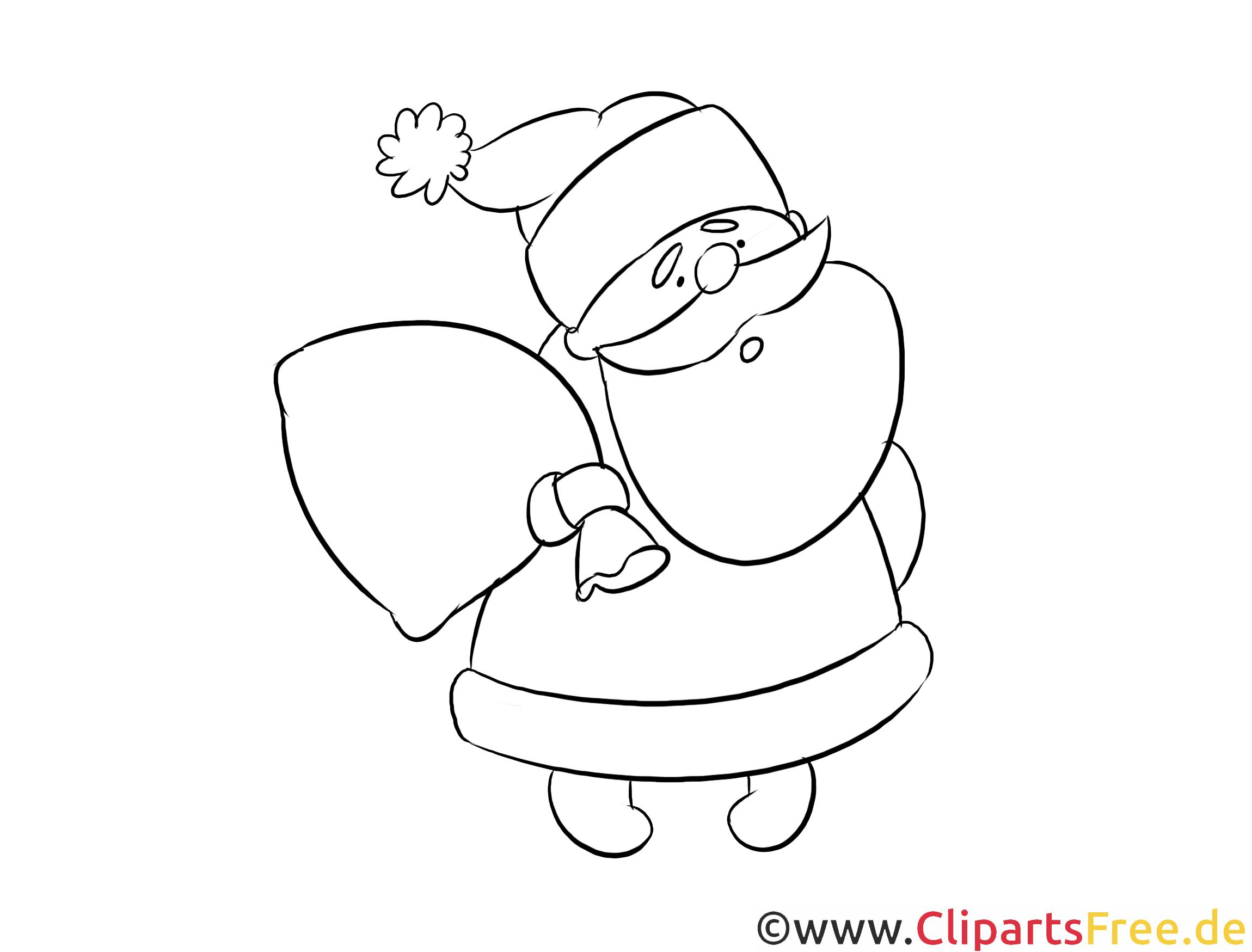 Weihnachtsmann Basteln Kostenlose Weihnachtsmann 3