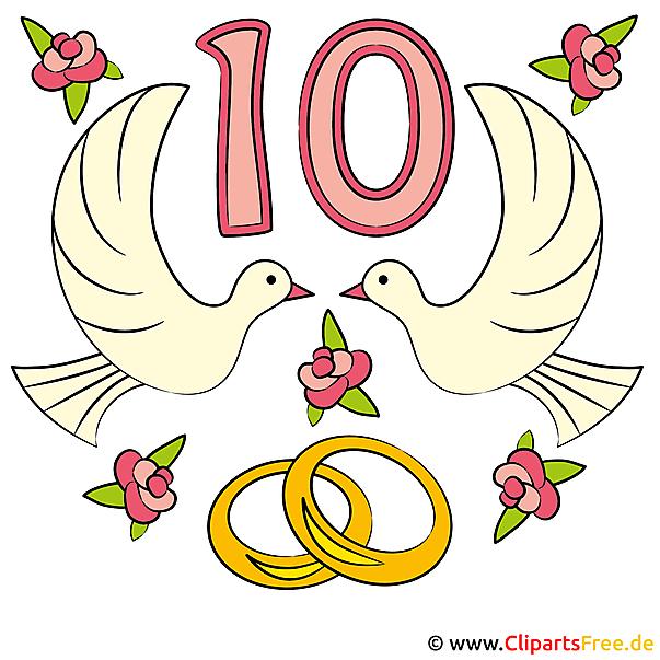 einladung zur rosen-hochzeit mit unseren cliparts selbst gestalten, Einladung