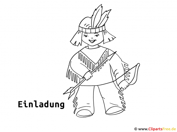 Indeaner Clipart