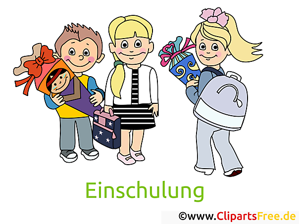 Schulkinder Bilder, Cliparts, Cartoons gratis