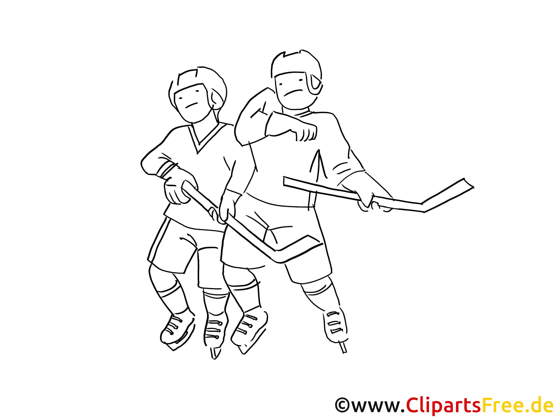 eishockey bilder zum ausmalen