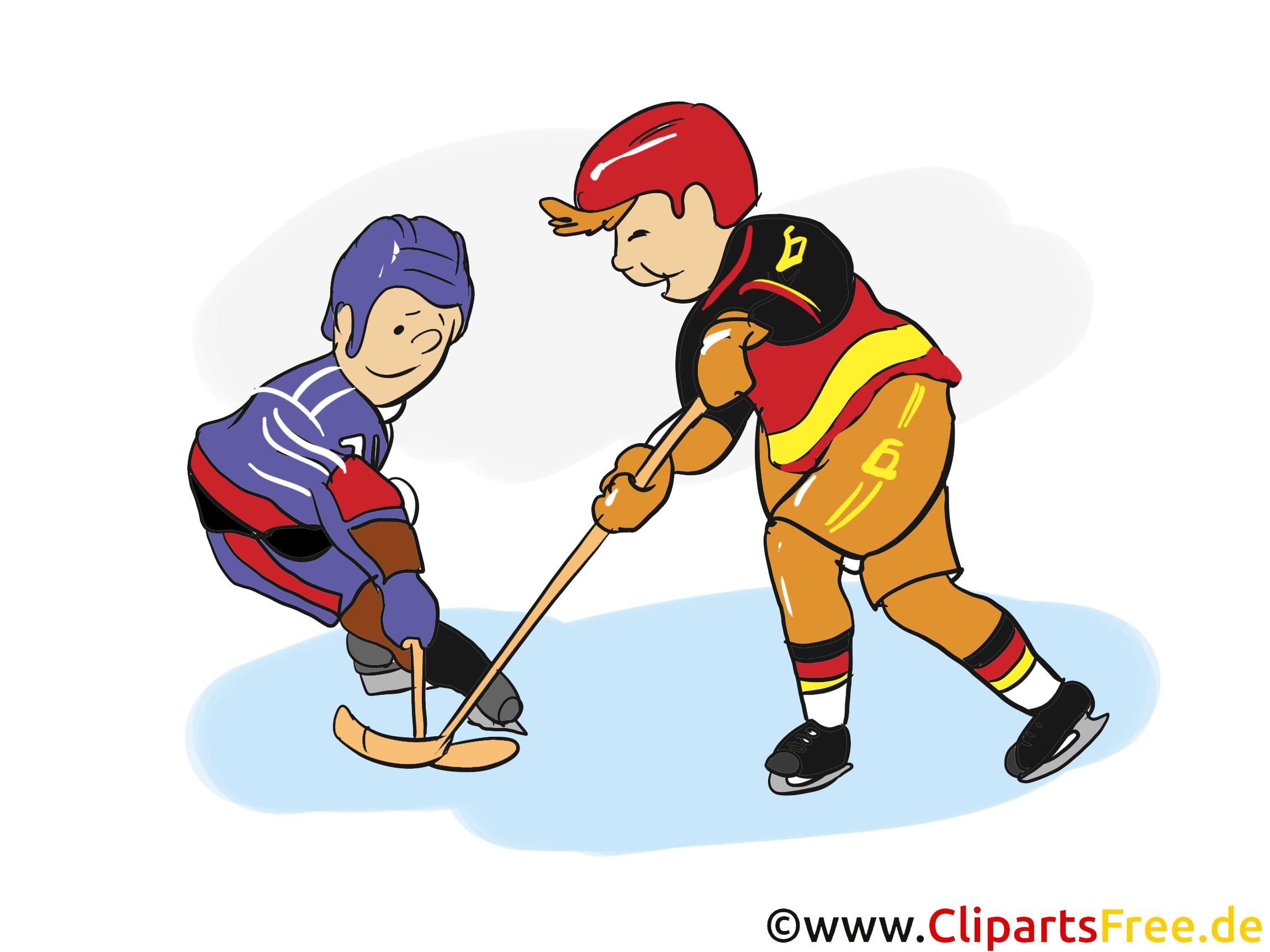 Eishockey Cliparts, Bilder und Grafiken kostenlos