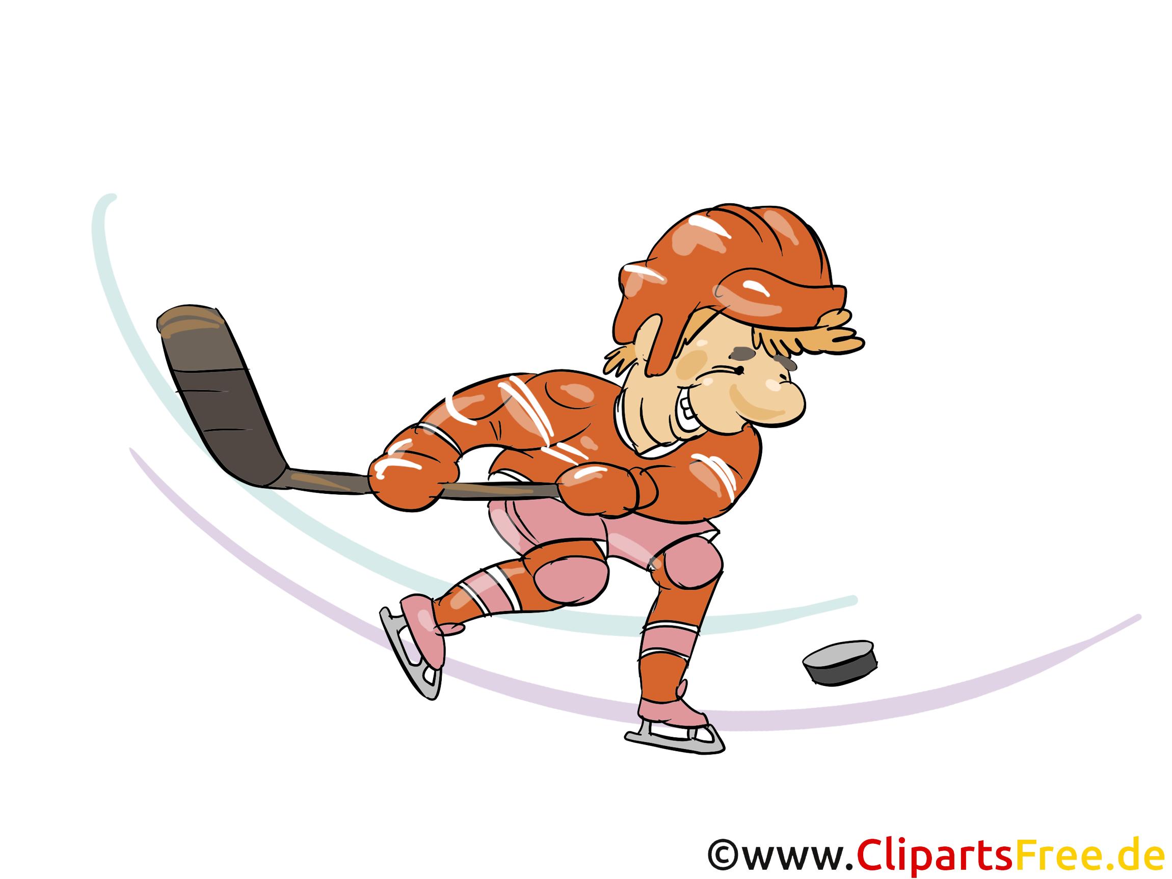 Eishockey Wurf ins Tor Clipart, Bild, Grfaik, Cartoon