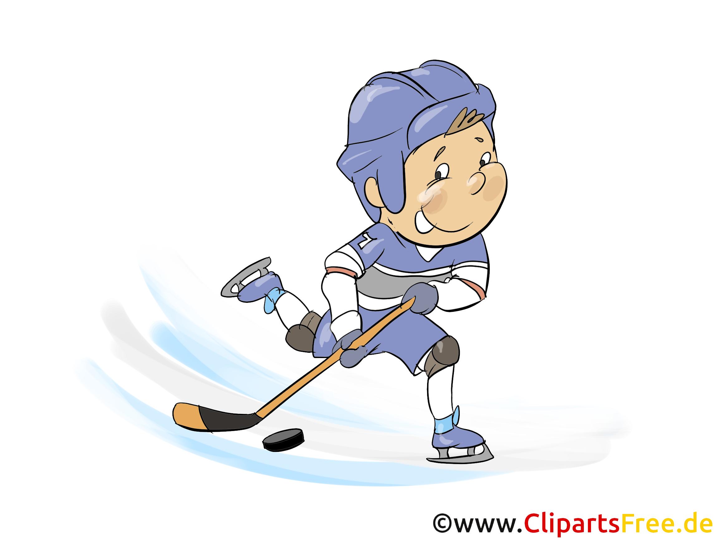 Illustration Hockey kostenlos